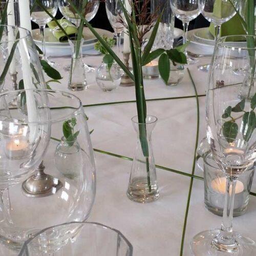 Mini vaser med bobler Leje af mini vase