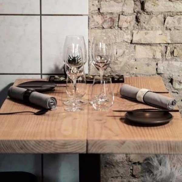 Dijon-Mahogany-serviet Miljøvenlig